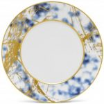 Noritake Jubilant Nights Gold Dinner Plate, 11″