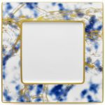 Noritake Jubilant Nights Gold Square Plate, 10 1/2″