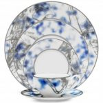 Noritake Jubilant Nights Platinum 5-Piece Place Setting