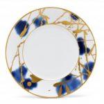 Noritake Jubilant Days Gold Salad/Dessert Plate, 8 3/4″