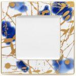 Noritake Jubilant Days Square Plate, 9 1/4″