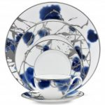 Noritake Jubilant Days Platinum 5-Piece Place Setting