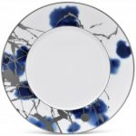 Noritake Jubilant Days Platinum Dinner Plate, 11″