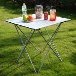 Outdoor Aluminum Roll Up Folding Camping Table