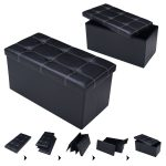 30″ Large Folding Ottoman Storage Seat
