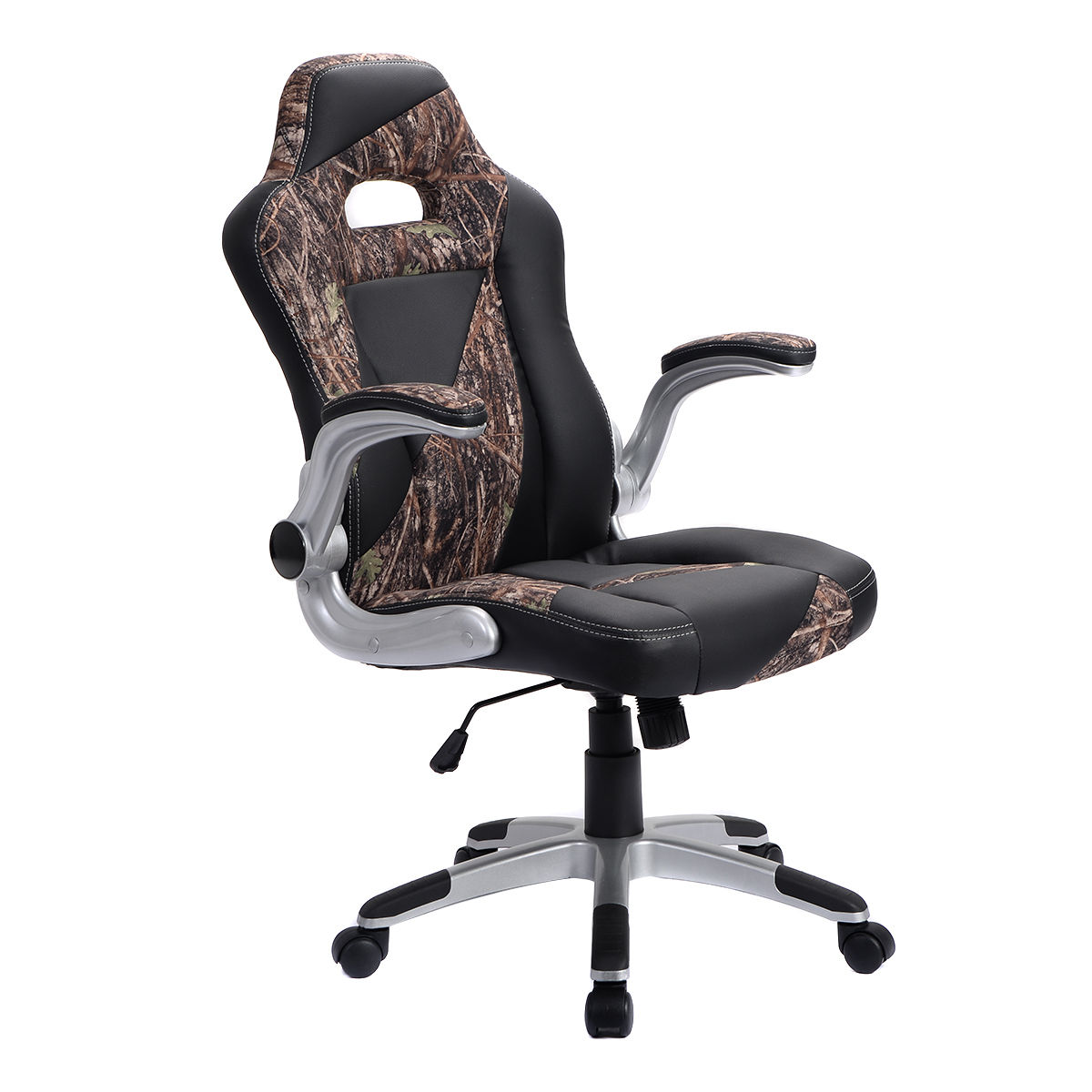 Camo PU Leather High Back Executive Office Chair ...
