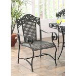 2 Metal Outdoor Patio Chairs – Ivy League
