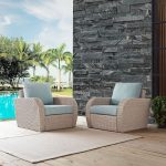 2-Piece Outdoor Wicker Chair Set – St Augustine