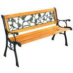 Outdoor Patio Cast Bench