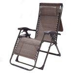Patio Recliner Foldable Zero Gravity Lounge Chair