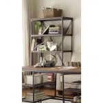 40 Inch Industrial Book Case – Iron Works Collection