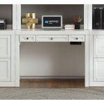 40 Inch Modern White Writing Desk – Catalina