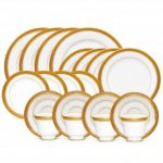 Noritake Crestwood Gold 20-Piece Set-Service for 4