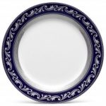 Noritake Crestwood Cobalt Platinum Accent/Luncheon Plate, 9″