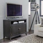 42 Inch Contemporary Gray TV Stand – 5th Avenue