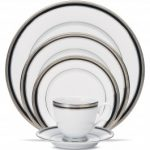 Noritake Austin Platinum 5-Piece Place Setting-Sample