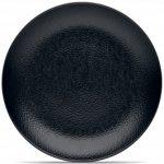 Noritake BoB Snow (Black on Black) Dinner Plate, 11″