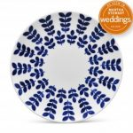 Noritake Sandefjord Salad/Dessert Plate-Coupe, 8 1/4″