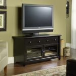 44 Inch Black TV Stand – Edge Water