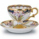 Noritake Wabana Iris Cup & Saucer