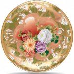 Noritake Wabana Chrysanthemum Plate