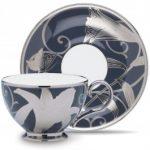 Noritake Hanaginsai Yuri Cup, 7 oz. & Saucer, 6″