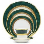 Noritake Fitzgerald 5-Piece Place Setting-Sample