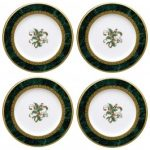 Noritake Fitzgerald Holiday Accent Plate, Set of 4, 8 1/2″