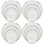 Noritake Silver Palace 20-Piece Set-Service for 4