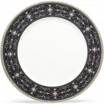 Noritake Rochelle Platinum Large Accent/Dinner Plate
