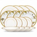 Noritake Rochelle Gold + Islay 16-Piece Set