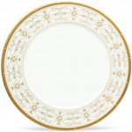 Noritake Rochelle Gold Large Accent/Dinner Plate