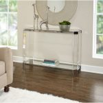 48 Inch Glass Sofa Table – Brahm