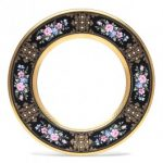 Noritake Evening Majesty Accent/Luncheon Plate, 9 1/2″