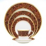 Noritake Xavier Gold 5-Piece Place Setting-Sample