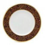 Noritake Xavier Gold Dinner Plate, 10 3/4″