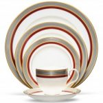 Noritake Ruby Coronet 5-Piece Place Setting