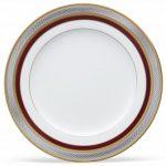 Noritake Ruby Coronet Salad/Dessert Plate, 8 1/4″