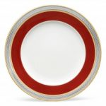 Noritake Ruby Coronet Accent/Luncheon Plate, 9″