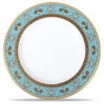 Noritake Georgian Turquoise Salad/Dessert Plate, 8 1/2″