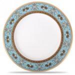 Noritake Georgian Turquoise Dinner Plate, 10 3/4″