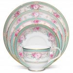 Noritake Palace Rose 5-Piece Place Setting-Sample
