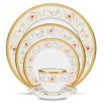 Noritake Blooming Splendor 5-Piece Place Setting-Sample