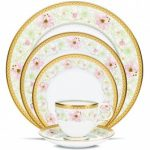 Noritake Blooming Splendor 5-Piece Place Setting