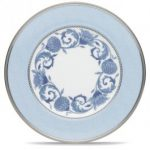 Noritake Sonnet in Blue Accent/Luncheon Plate, 9″