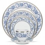 Noritake Sonnet in Blue 5-Piece Place Setting
