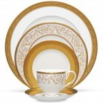 Noritake Summit Gold 5-Piece Place Setting-Sample