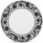 Noritake Chantilly Noire Dinner Plate