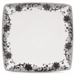 Noritake Chantilly Noire Large Square Plate