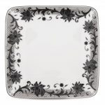 Noritake Chantilly Noire Small Square Plate